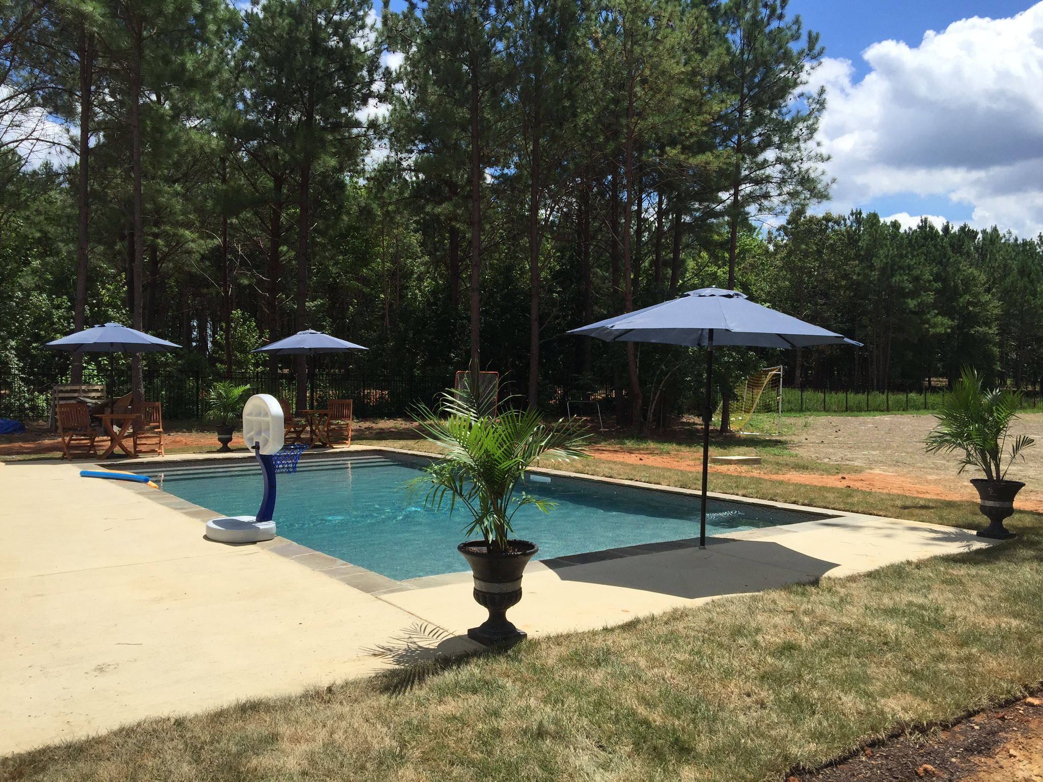 Raleigh vinyl pools above in ground swimming choice for Sport pools pictures