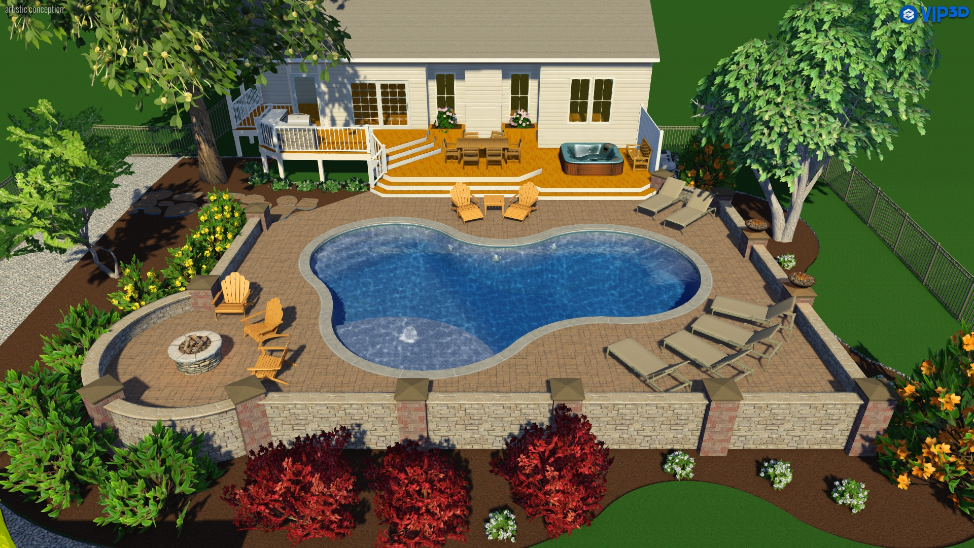 Raleigh Landscape Design: 3D Pool & Spa Services | Choice P&S on outdoor kitchen patio, small yard pool ideas, outdoor kitchen construction, outdoor kitchen lighting, outdoor kitchen designs with roofs, backyard pool ideas, fire pit pool ideas, patio pool ideas, pond pool ideas, bedroom pool ideas, beach entry pool ideas, courtyard pool ideas, fountain pool ideas, garden pool ideas, privacy fence pool ideas, landscaping pool ideas, garage pool ideas, spa pool ideas, outdoor kitchen garden, jacuzzi pool ideas,