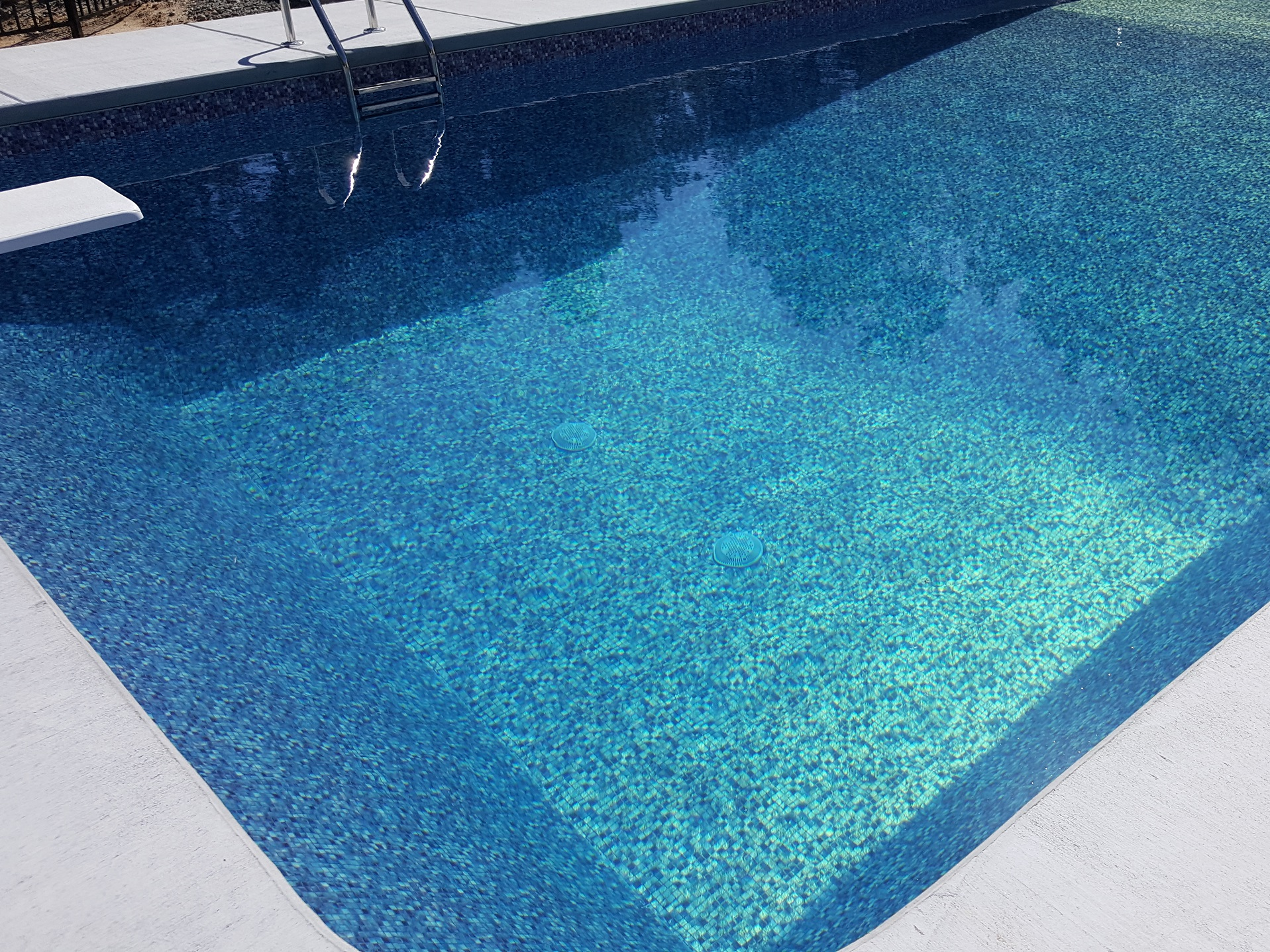 Raleigh vinyl pools above in ground swimming pools choice for Pool liners