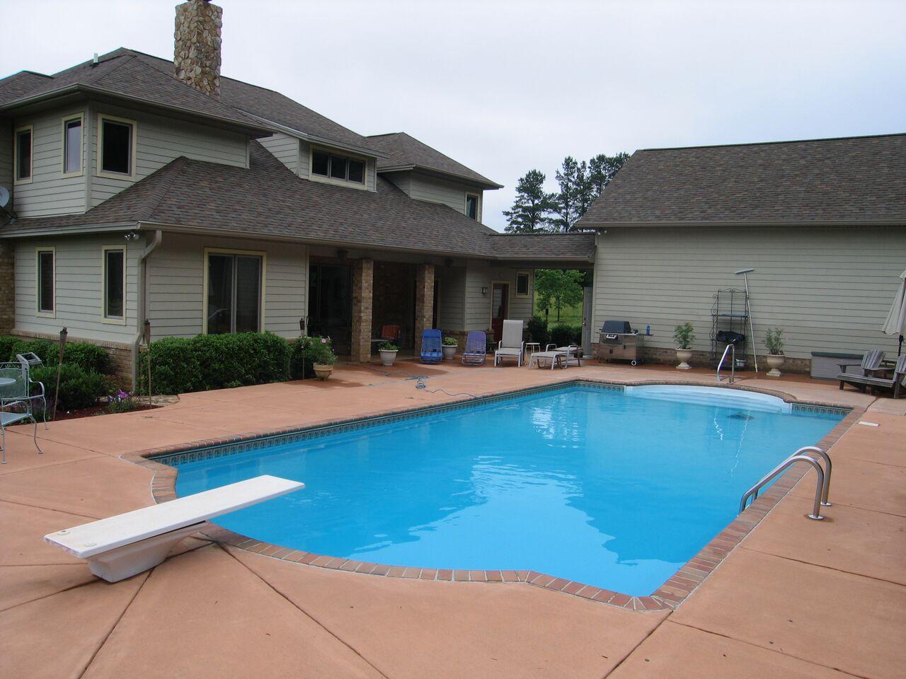 indoor pool house with diving board. VP11 Indoor Pool House With Diving Board