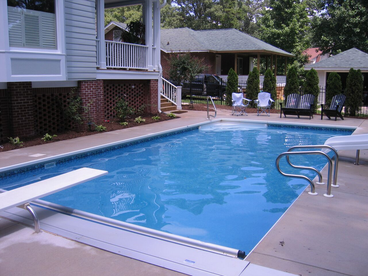 Raleigh Vinyl Pools Above In Ground Swimming Pools Choice