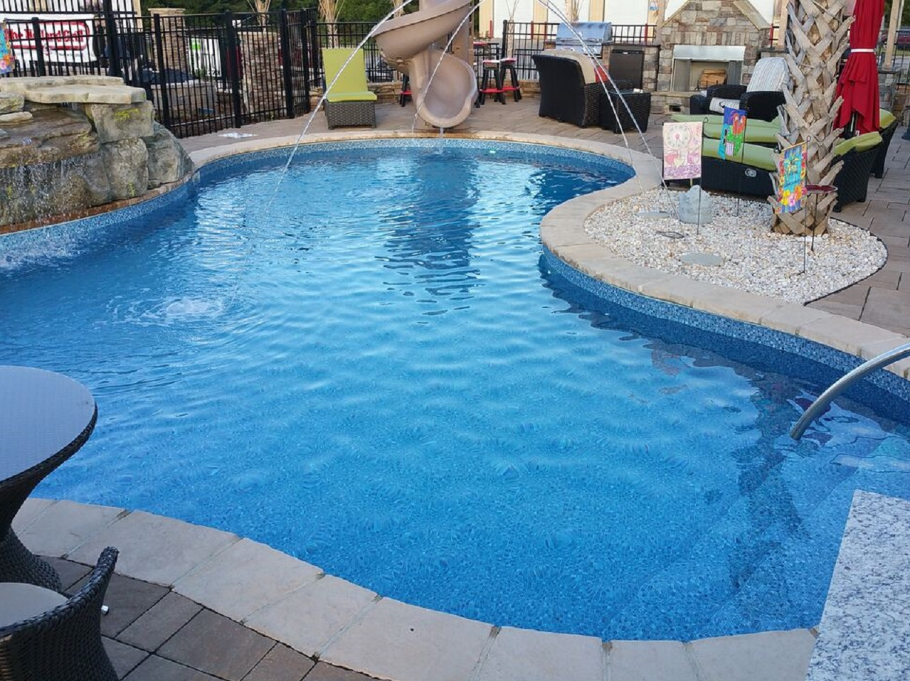 Pool Pictures Gallery : Raleigh vinyl pools above in ground swimming choice