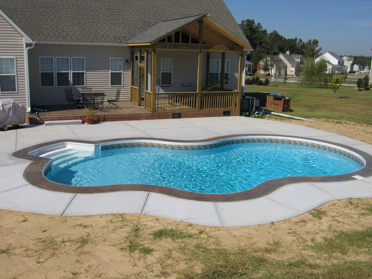 Raleigh Swimming Pool Fiberglass Above Ground Amp Inground